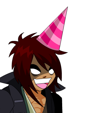 AdorableLoveCasterBirthdayHat.png