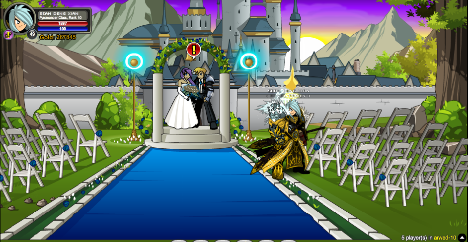 Alina'sWeddingScreen1AfterArtix'sQuests.png