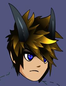 Arcane Dark Caster Horns Aqw