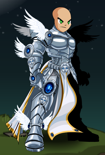 Black Book Online >> Champion Of Light (Armor) - AQW