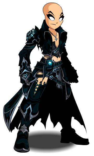 Evolved Dark Caster Armor Aqw