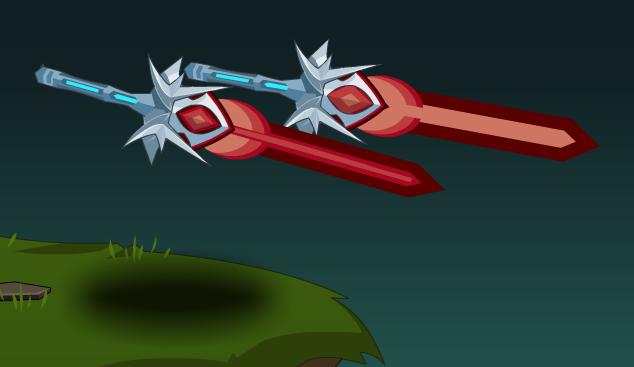Mechanical Star Daggers