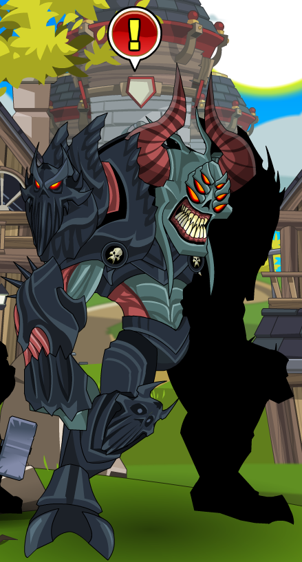 Marvelous Nulgath Npc Aqw Personalised Birthday Cards Veneteletsinfo