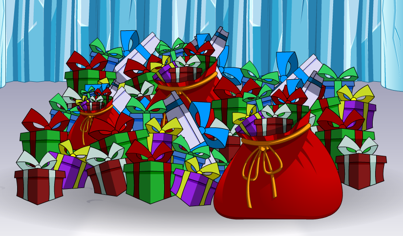 Image result for pile of presents
